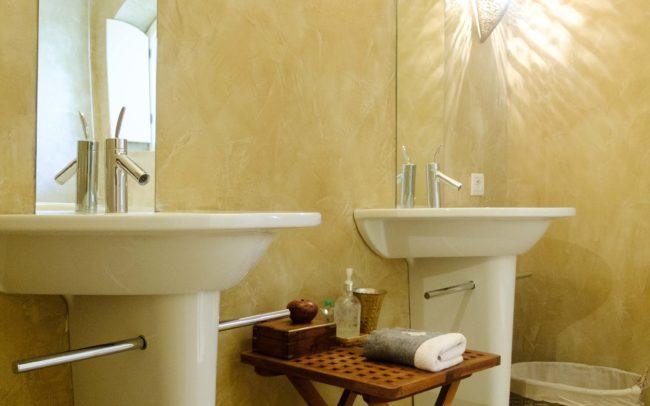 Le Queyron - salle de bain